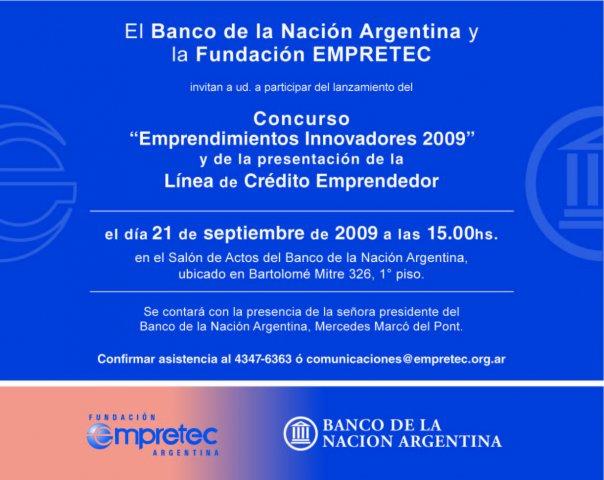 Emprendimientos 2009