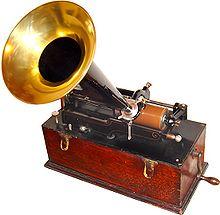 El fonógrafo de Thomas Alva Edison
