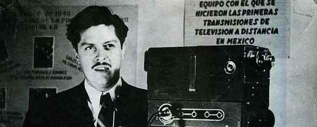 Cabecera de Gonzalez Camarena inventor del televisor a color