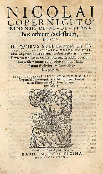 Sobre las revoluciones de las esferas celestes