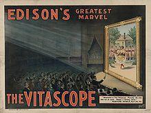 Vitascopio de Thomas Edison