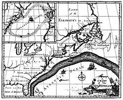 Corriente del golfo de Benjamin Franklin