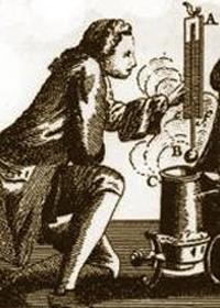 Termómetro de mercurio de Daniel Fahrenheit