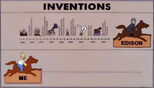 Homero Simpson Inventor