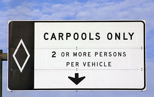 Carriles exclusivos para Carpooling
