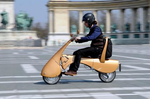 Moveo la motocicleta plegable