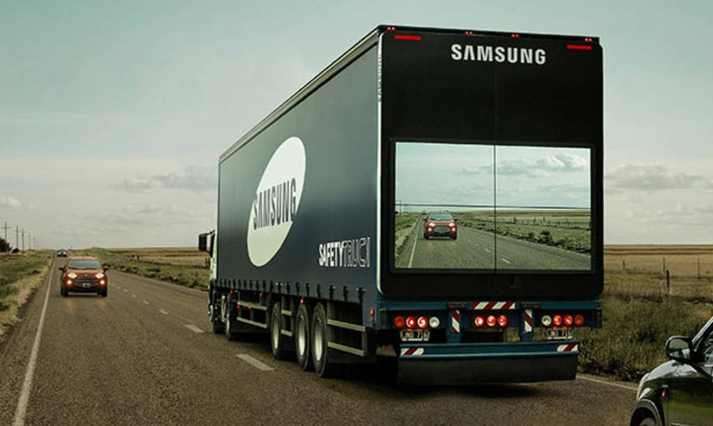 Camaras en camiones para evitar accidentes Samsung, SafetyTrack