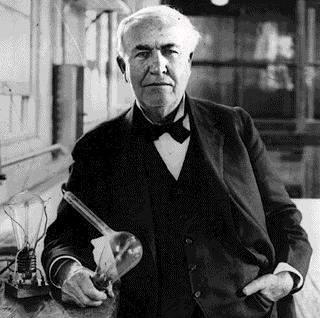 Bombillas eléctricas de Thomas Edison